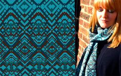 Using independent, unique, and stylish designs, Bleuet Textiles makes a variety of scarves, purses, and bags, ideal accessories for day and evening.