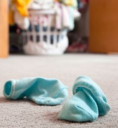 11 Chores You Wish Your Family Would Master... #2 Apparently the rest of your family seems to wonder why they should bother to put dirty clothes in the hamper, when the floor next to it will do just fine.