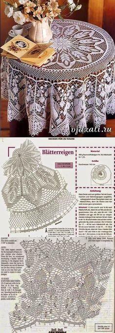 Crochet Free Pattern Clothes Ganchillo Ideas For 2019 Filet Crochet, Crochet Doily Diagram, Crochet Doily Patterns, Crochet Round, Crochet Home, Thread Crochet, Crochet Doilies, Crochet Stitches, Knitting Patterns