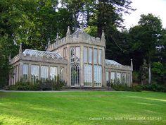 Greenhouse/Conservatory at Culzean Castle, in Ayrshire, Scotland. ~ {cwl} ~ (Professional Photographer: Renaud Camus, via flickr)