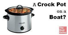 Crock pots work well