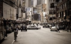 Broadway, New-York, USA