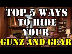 There are endless places and ways to conceal, hide and stash your guns and other precious items. Who knows when the time would actually come when some jack-booted thug would beat down your door and… Survival Knife, Survival Tips, Survival Skills, Hidden Gun Safe, Secret Hiding Places, Home Surveillance, Home Defense, Floating Shelves Diy, Guns And Ammo