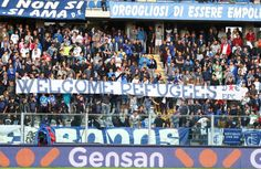 #refugeeswelcome in Empoli, Toscana, Italy  team: Empoli F.C.