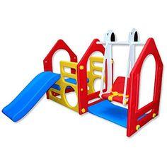 Maison pour Enfants avec toboggan et balançoire EPR-KS-10... https://www.amazon.fr/dp/B004QMI960/ref=cm_sw_r_pi_dp_x_s97bybF150645
