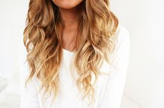 Love this color with the curls! If I ever dye my hair...and maybe i would get a perm with this color too!