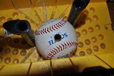 Adventures in DIY: Tween Boy Baseball Room--Part II Baseball Curtain Rod
