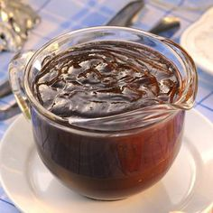 Chocolate Ganache Topping. Super easy, only 2 ingredients needed: 2 cups of semi-sweet chocolate chips and 1 1/2 cups of heavy cream. Great as a topping or as a liquid center for cakes, cupcakes, muffins, or cookies.