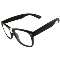 Already Adhesive Taped Glasses for Your Inner Geek! Clear Lenses! In Black with Matte Finish GirlPROPS. $9.99. Save 67%!