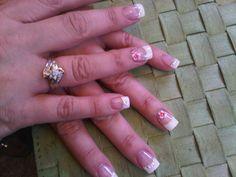 fingernail design white tips   nail design « Nailed Down