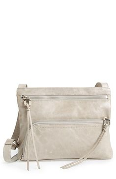 Women's Hobo 'Cassie' Crossbody Bag - Grey