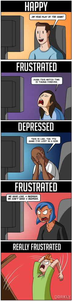 The 5 Emotions You Have When Playing Overwatch