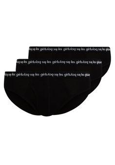 ¡Consigue este tipo de slips de Les Girls Les Boys ahora! Haz clic para ver los detalles. Envíos gratis a toda España. Les Girls Les Boys BRIEF WITH BRANDED 3 PACK  Slip black: Les Girls Les Boys BRIEF WITH BRANDED 3 PACK  Slip black Ropa   | Material exterior: 95% algodón, 5% elastano | Ropa ¡Haz tu pedido   y disfruta de gastos de enví-o gratuitos! (slips, briefs, jock strap, brief, slip, slips, slips, slips, slip)
