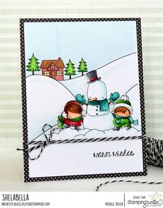 Stamping Bella's January Stamp of the Month