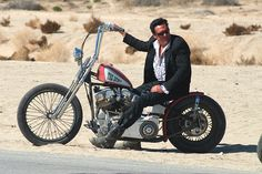 "From the movie ""Hell Ride"".  Michael Madsen was ""The Gent"" and rode one of the coolest Bobbers I've ever seen."