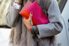 Fur and bright colors.