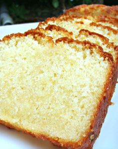 Moist Vanilla Pound, Loaf Cake
