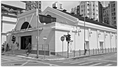 Old building in Hong Kong@Yaumatei Cinema