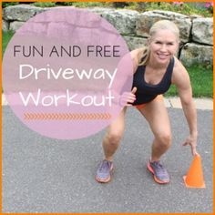 Fun and Free Driveway Workout.Visit www.sophysports.com to get a Exercise Ball