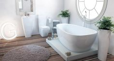 Inspiration from Bathrooms.com: Janssen Signature 3 Piece Bath Suite (037)