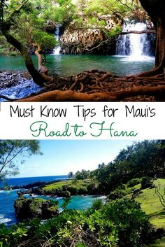 The top tips for the Road to Hana. Where to stop and what to prepare for on your trip to Maui, Hawaii.