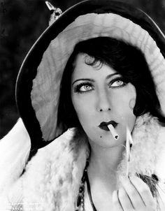 Gloria May Josephine Swanson (3/27/1899 – 4/4/1983) was an American actress, singer and producer. She was one of the most prominent stars during the silent film era as both an actress and a fashion icon, especially under the direction of Cecil B. DeMille.