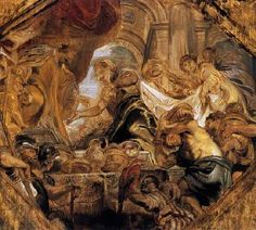 King Solomon and the Queen of Sheba - Peter Paul Rubens.  1620.  Oil on panel.  41 x 46 cm.  The Courtauld Institute of Art, London, UK.