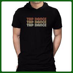 Teeburon Tap Dance RETRO COLOR Hooded T-Shirt - Retro shirts (*Amazon Partner-Link)