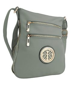 Love this MKF Collection | Seafoam Roneeda Crossbody Bag by MKF Collection on #zulily! #zulilyfinds