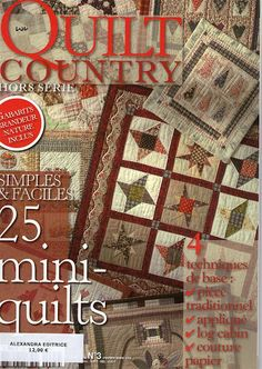 Quilt Country - Carmem roberge - Picasa Web Albums... FREE MAGAZINE AND PATTERNS!