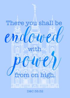 April 2017 visiting teaching handout | visiting teaching ideas | free printable for visiting teachers| oath and covenant of the priesthood | There you shall be endowed with power from on high | temple ordinances | temple blessings