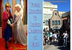 It's A Disney World After All: Frozen Attraction Headed to Epcot