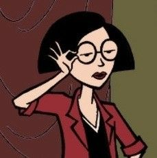 Cute Cartoon Characters, Cartoon Icons, Aesthetic Art, Aesthetic Pictures, Jane Lane, Early 2000s Cartoons, Daria Quotes, Daria Morgendorffer, Kawaii Doodles