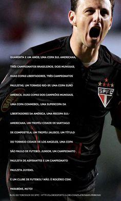 Rogério Ceni, o Maior goleiro da história. #M1TO
