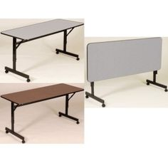 School Tables - Adjustable Height Flip Top Table FT2448M 24-in x 48-inch Top  $170