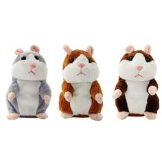TOFOCO Electronic Talking Hamster Plush Toys Best Early Educational Toy Christmas Gift Speaking Sound Stuffed Electric Pets - Kid Shop Global - Kids & Baby Shop Online - baby & kids clothing, toys for baby & kid Christmas Animals, Christmas Gifts For Kids, Christmas Toys, Kids Gifts, Baby Gifts, Talking Hamster, Talking Toys, Classic Dad Jokes, Baby Toys