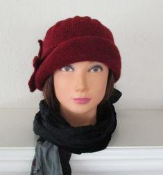 Knitting Pattern PDF Downton Abbey Hat Cloche Lady by SwanAvenue
