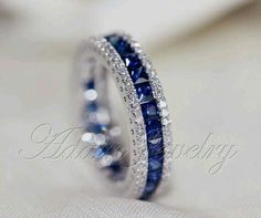 Sapphires and diamonds!!!