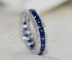 Sapphires and diamonds!!!