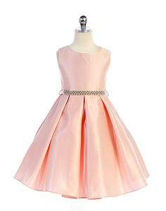 The Michelle Dress is great for special occasions, weddings, parties, church or any dressy event! Sleeveless Satin Dress Round Neckline Silver Waistband Zipper Back Made In Satin Dresses, Ball Dresses, Ball Gowns, Dresses Kids Girl, Kids Outfits, Flower Girl Dresses, Elegant Party Dresses, Formal Dresses, Kids Gown
