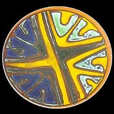Poole-Pottery-Delphis-Charger-Jean-Millership-1960s