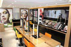 Retail Design   Health  Beauty   Shop Design   shu uemura, London