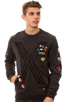 The Kingston Sweatshirt in Black Marl by 10 Deep