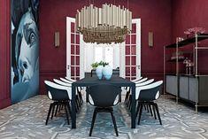 Stunning Italian residence by Ukrainian interior designers Stunning Italian residence by Ukrainian interior designers www.bestinteriordesigners.eu #interiordesign #modern #diningroom