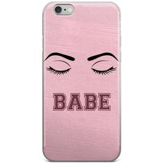 Makeup Phone Case ($19) ❤ liked on Polyvore featuring accessories, tech accessories, phone, cases, phone case, fillers, iphone cover case, apple iphone case, iphone cases and clear iphone case