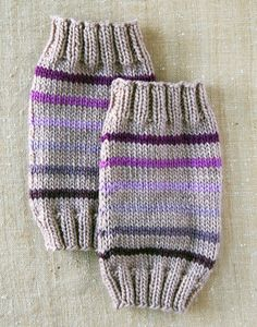 Baby Leg Warmers- the purl bee