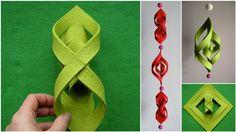 Diply.com - 3D Felt Ornament