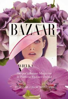 PANTONE Color of the Year 2014 - Radiant Orchid fashion #CapeResortsWedding  #NicoleMillerBridal
