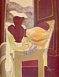 The wash stand, 1942 - Georges Braque Cubism, Expressionism Pablo Picasso, Picasso And Braque, Henri Matisse, Georges Braque Cubism, Art Fauvisme, André Derain, Francis Picabia, Wash Stand, Post Impressionism