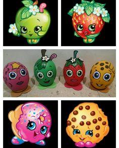 Shopkins #EasterEggs2k16. Shopkins, Easter Bunny, Easter Eggs, Easter Crafts, Crafts For Kids, Egg Decorating, Egg Shells, Painted Rocks, Holidays
